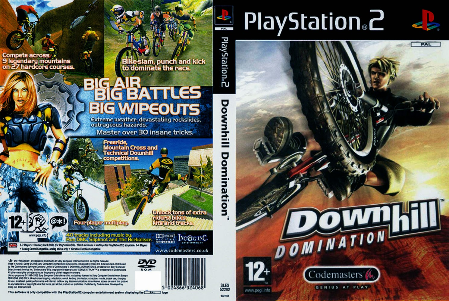 Downhill domination ps2 review